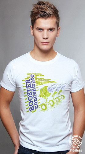 MooTees cool graphic tees for men Mine Run 02 white 01