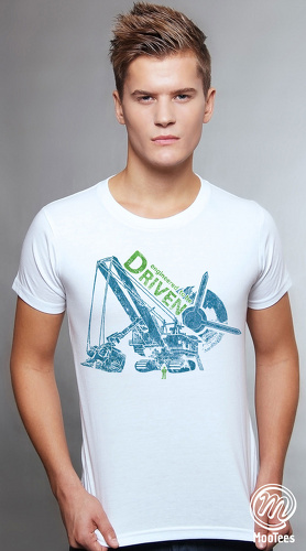 MooTees cool graphic tees for men Mine Run 05 white 01