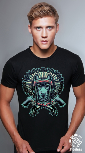MooTees cool graphic tees for men Mystique 05 black