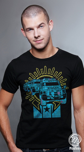 MooTees cool graphic tees for men Polis 02 black 05