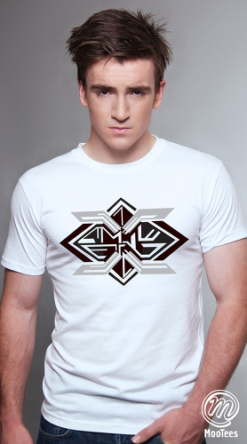 MooTees cool graphic tees for men Space 02 white 01