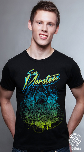 MooTees cool graphic tees for men Tropico 04 black 03